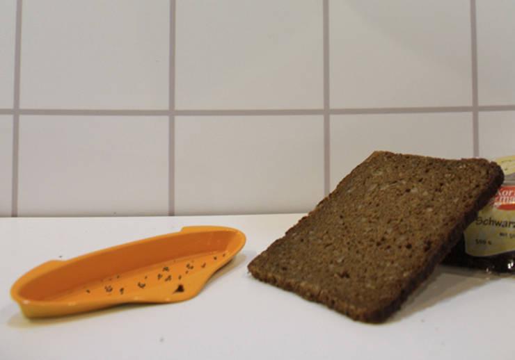 Studio MU•CA – Slim toaster: minimal tarz tarz Mutfak