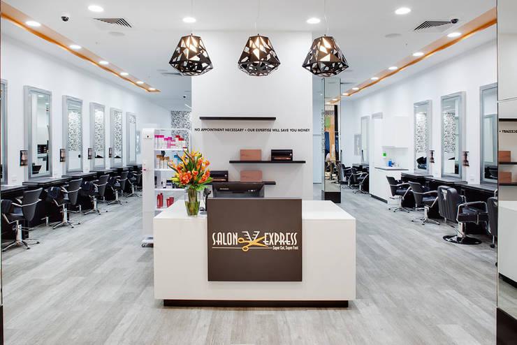 Salon Express 2 Service Counter:  Shopping Centres by Natasha Fowler Design Solutions