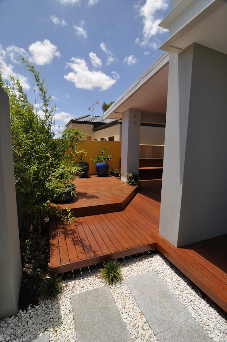 Perth 9 Alfresco:  Garden by Natasha Fowler Design Solutions