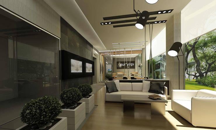 BWorks  – Sales Office -1:  tarz Ofis Alanları, Modern