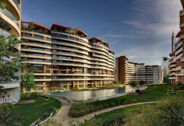 Evrenol Architects – Göl etabı - Fotoğraf UĞUR EREN: modern tarz Bahçe