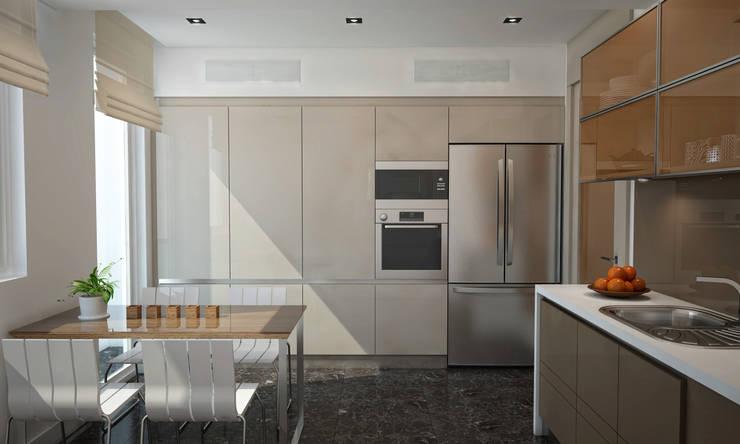 BWorks  – SD HOUSE: modern tarz Mutfak