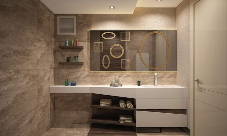 BWorks  – SD HOUSE: modern tarz Banyo