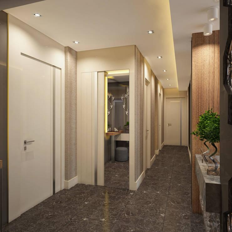BWorks  – SD HOUSE:  tarz Koridor ve Hol
