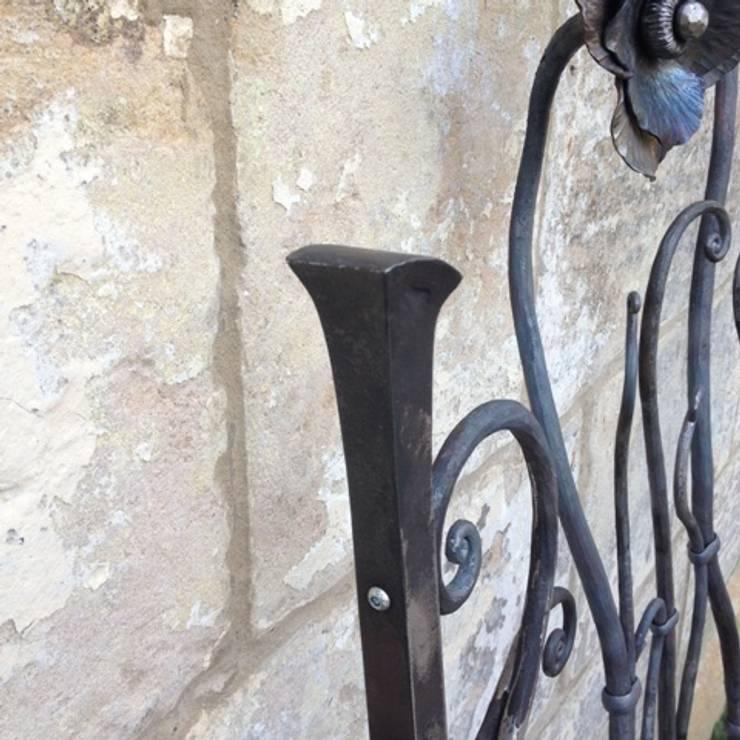 The Larkhall Anemome Gate by Ironart of Bath:   by Ironart Ltd