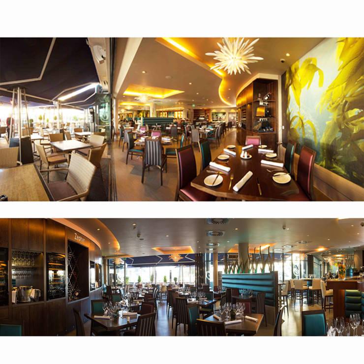 Zephyr Restaurant, Royal Yacht Hotel, Jersey:  Hotels by IDP Design