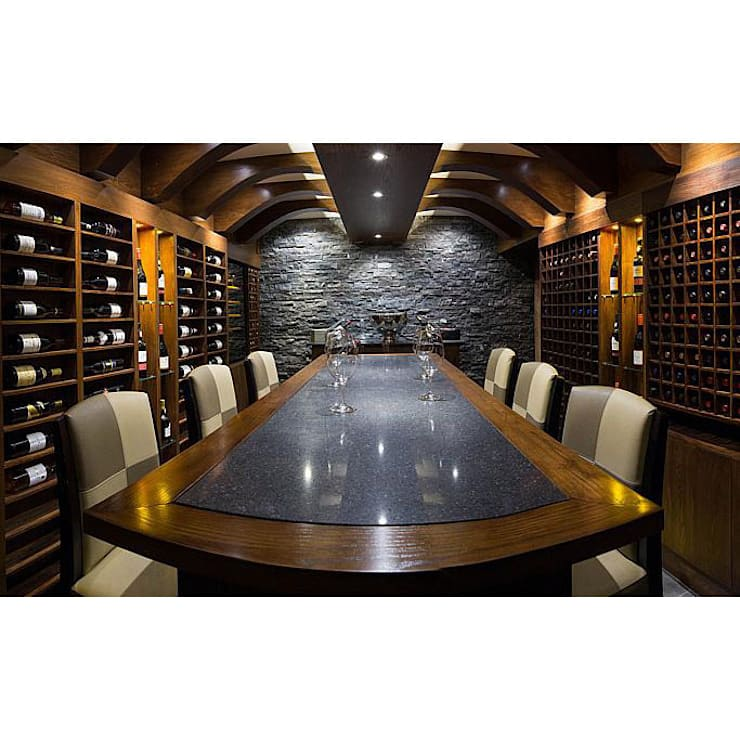 Wine Cellar, Royal Yacht Hotel, Jersey:  Hotels by IDP Design