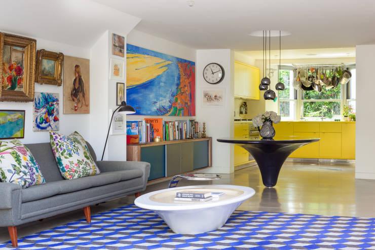 Living room by Whitaker Studio