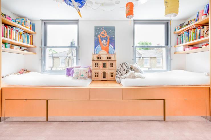 Projekty,  Pokój dziecięcy zaprojektowane przez Whitaker Studio