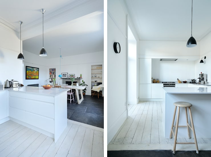 South Crown Street Kitchen / Dining:  Kitchen by Brown + Brown Architects