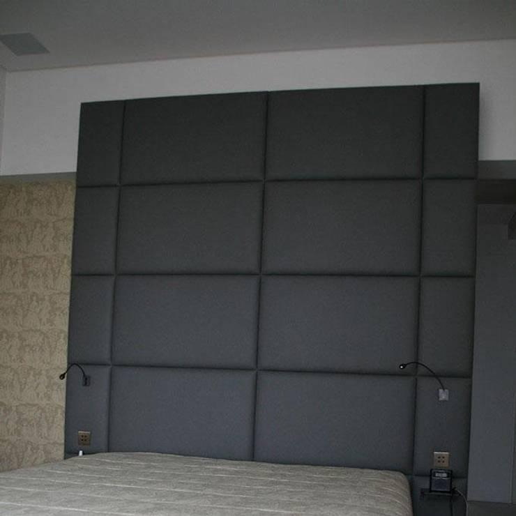 Tête de lit Granit: Chambre de style  par Fabrice Mullet