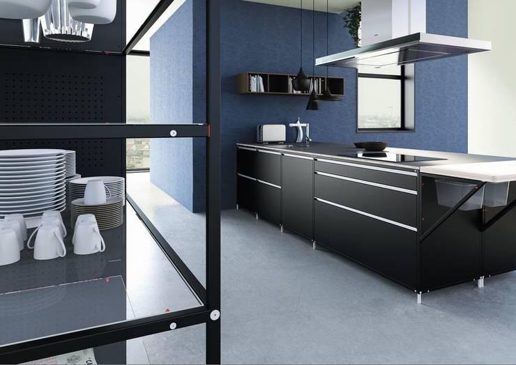 Meccanica | demode engineered by Valcucine:  Kitchen by Valcucine
