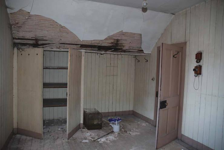 Bedroom Prior to Restoration:   by Architects Scotland Ltd