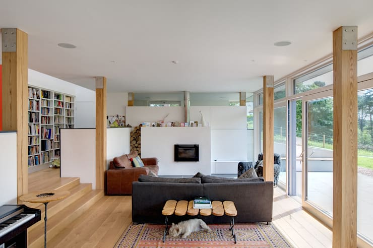 Sunnybank House, Coldingham:  Living room by Chris Humphreys Photography Ltd