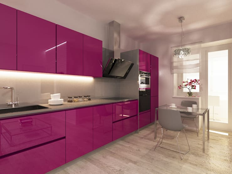 Cozinhas modernas por OK Interior Design