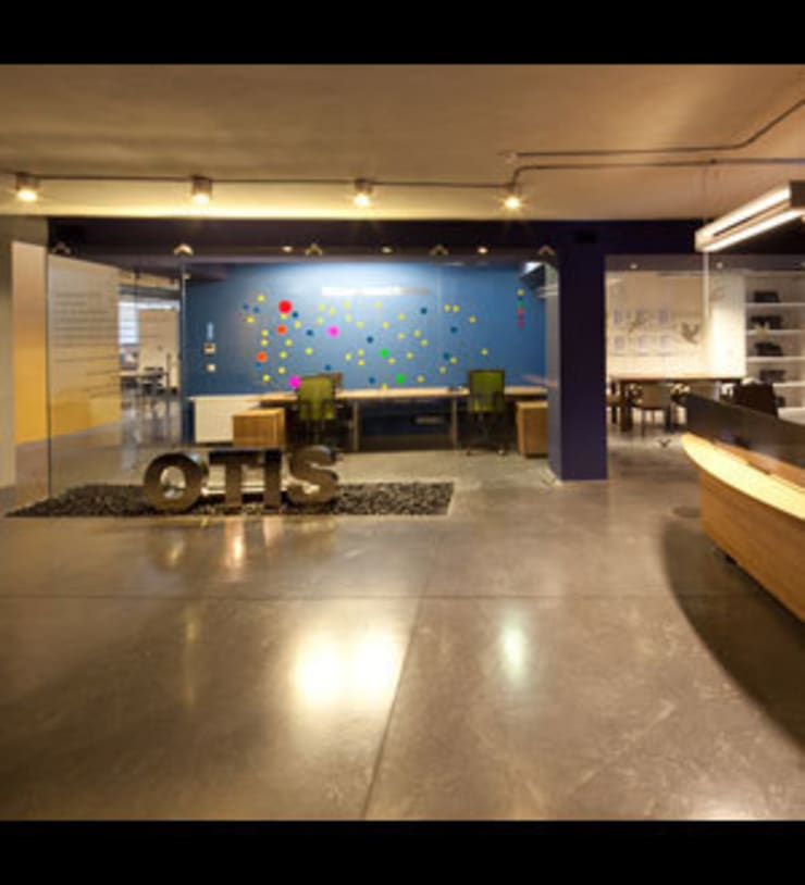 SANALarc – OTIS Istanbul Headquarters:  tarz Çalışma Odası