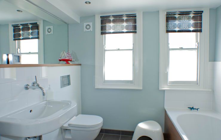 Bathroom in Victorian house in Bristol:  Bathroom by Dittrich Hudson Vasetti Architects