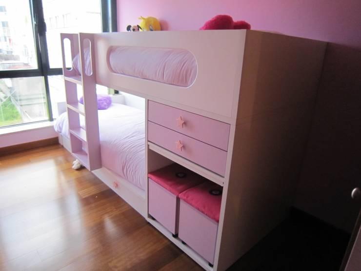 Habitación infantil : Dormitorios infantiles de estilo  de MAS Diseño
