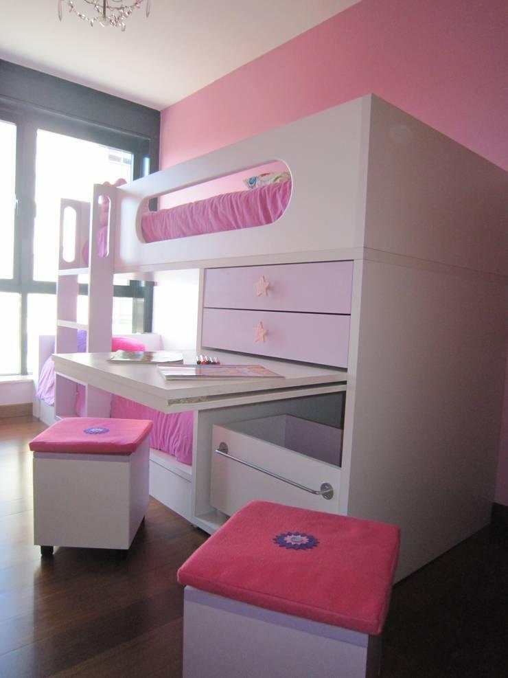 Habitación infantil : Dormitorios de estilo  de MAS Diseño