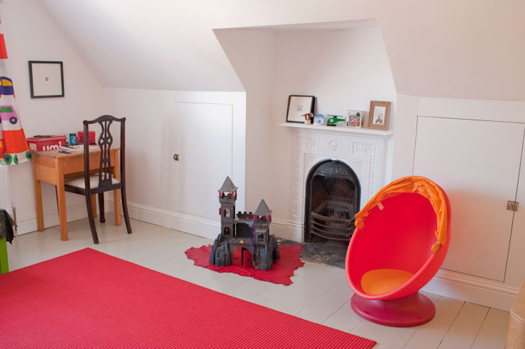 House remodelling in North Bristol:  Nursery/kid's room by Dittrich Hudson Vasetti Architects