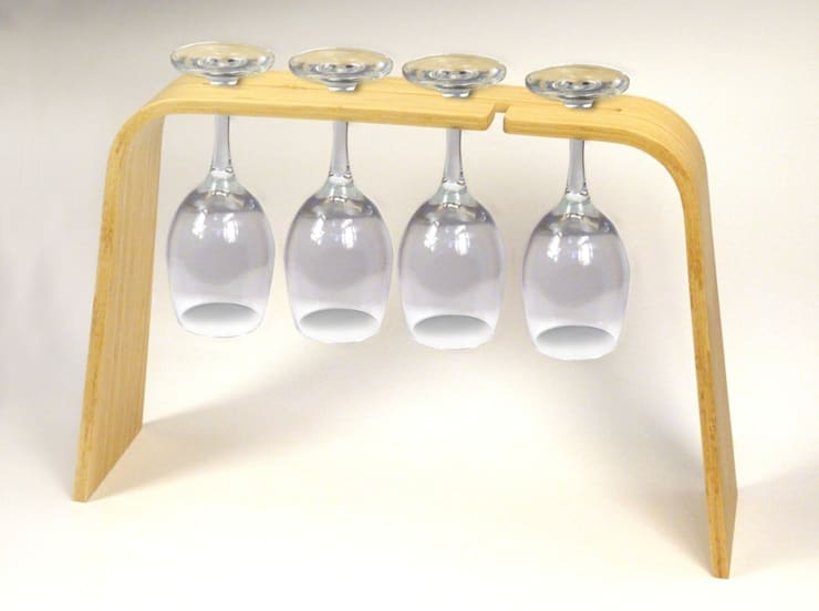 Wine Glass Holder:  Kitchen by Rin crossing