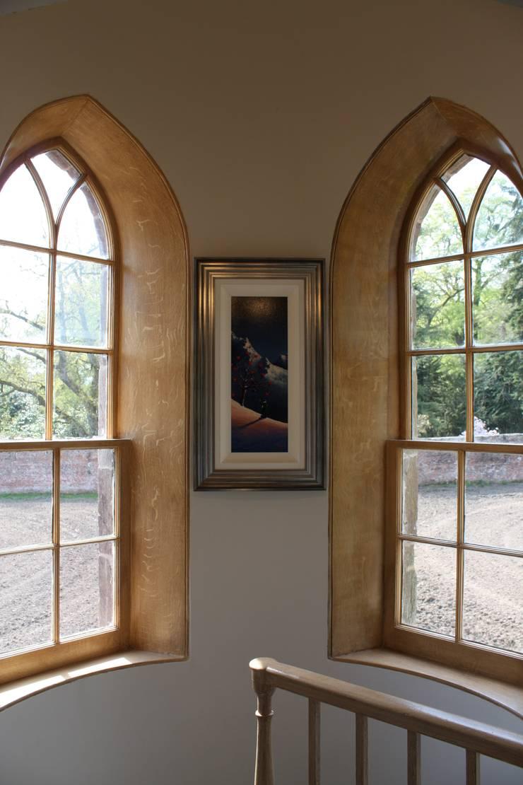 Stair Windows:  Hotels by Architects Scotland Ltd
