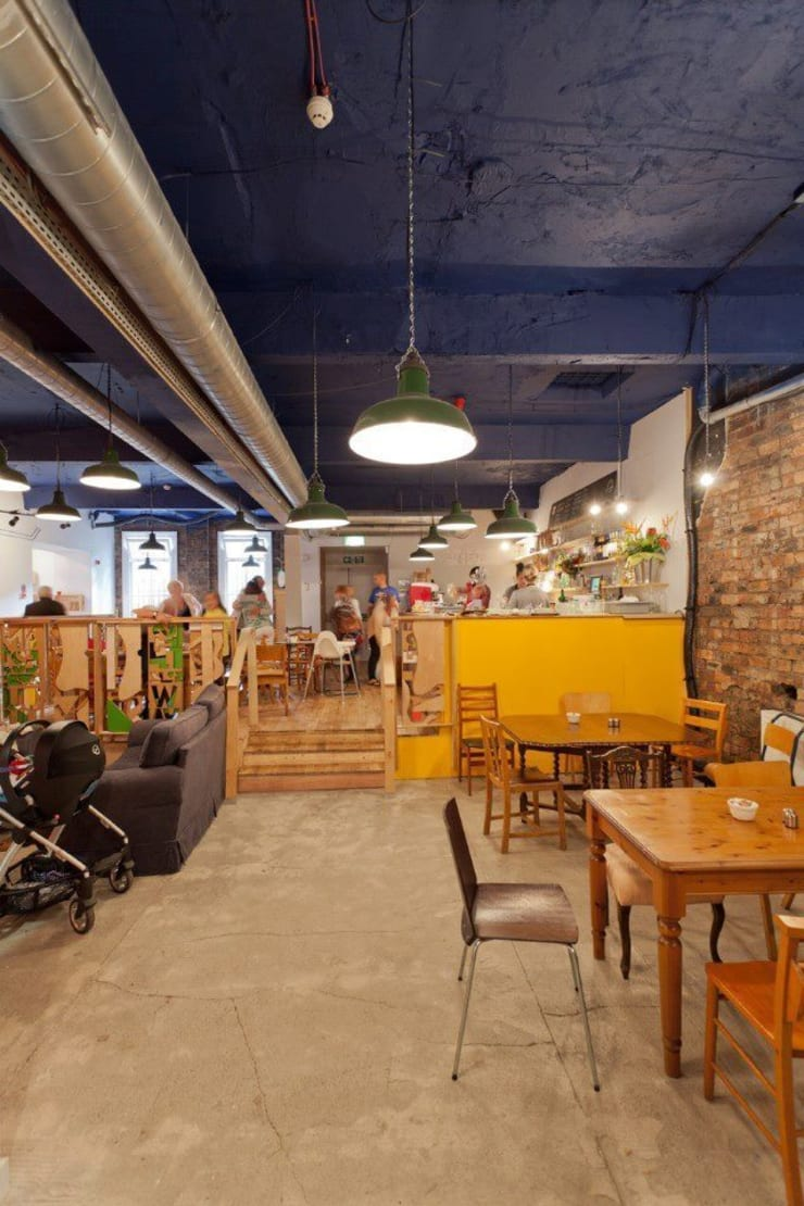 A Glasgow Cafe:  Commercial Spaces by info3551