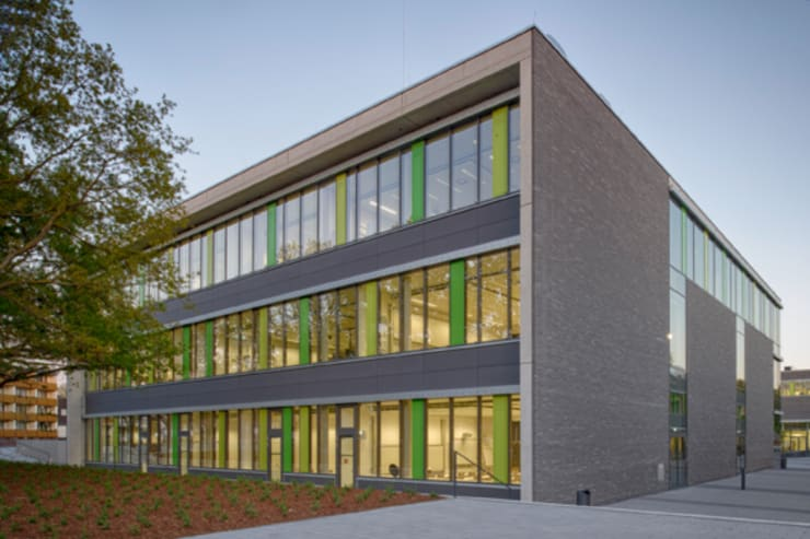 Neubau Hochschule Rhein-Waal, Kamp-Lintfort von Michael van ...