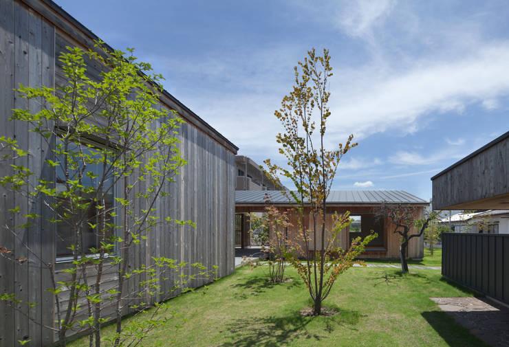 南の庭: classが手掛けた家です。,