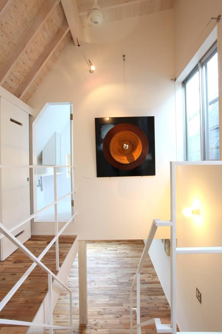 マルコビッチな家: SASAKI YOSHIKI ARCHITECTS STUDIOが手掛けた壁です。