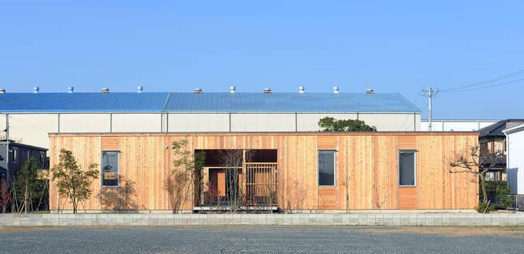 竣工当時の東側: classが手掛けた家です。