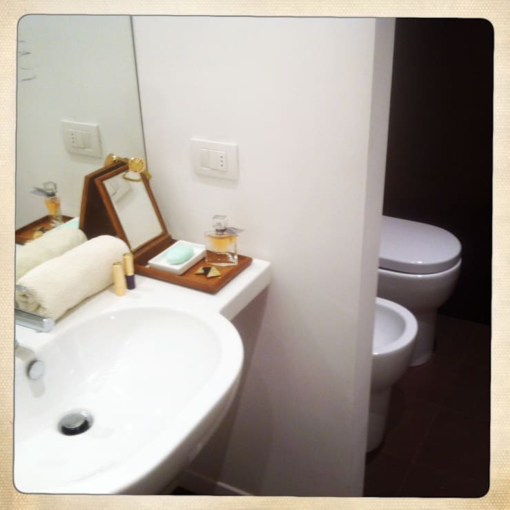 Ванные комнаты в . Автор – marta novarini architetto