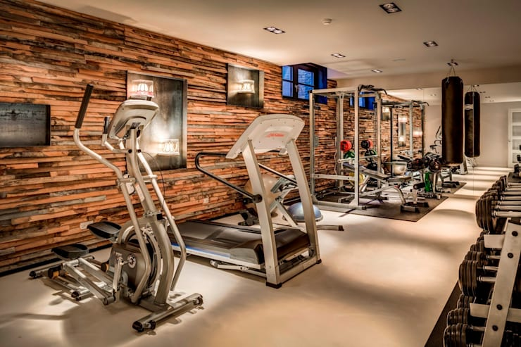 modern Gym by Kabaz