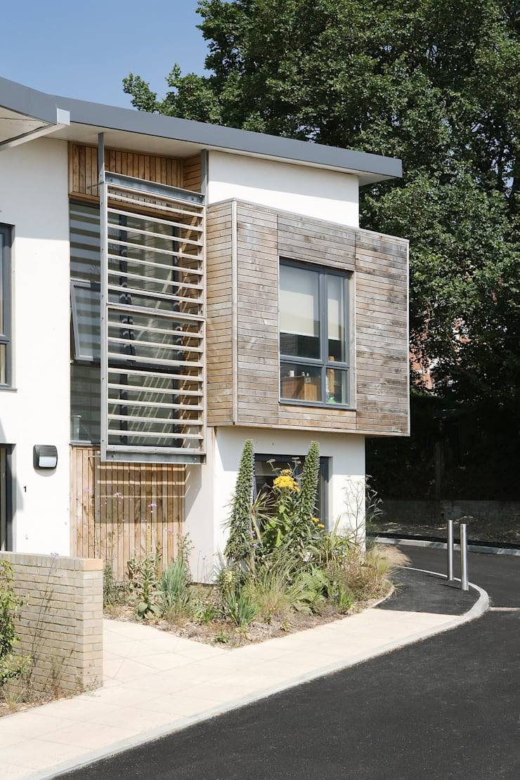George Williams Mews - Cluster Flat :   by ABIR Architects