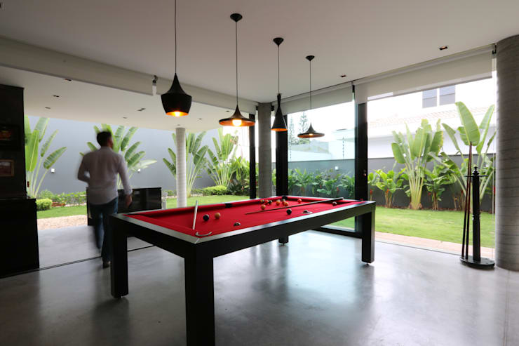ZAAV-Casa-Interiores-1342: Salas de jantar minimalistas por ZAAV Arquitetura