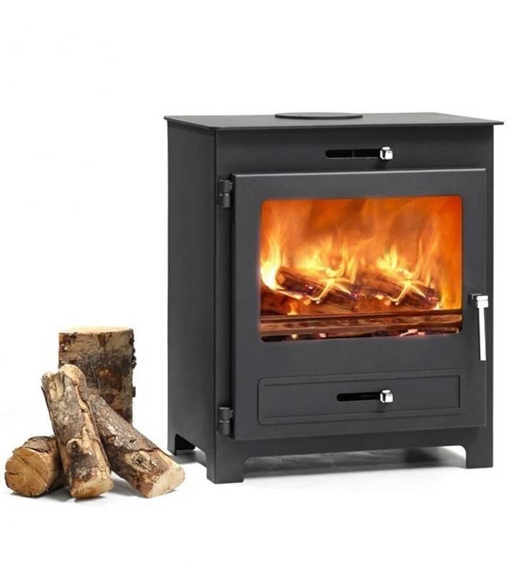 Hillandale Silverdale 7 Wood Burning DEFRA Approved Stove:  Living room by Direct Stoves