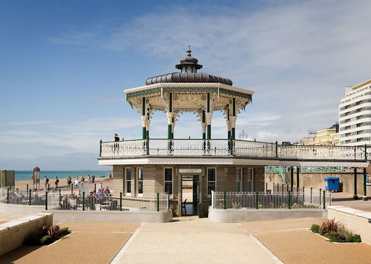 Brighton Birdcage Bandstand - completed :   by ABIR Architects