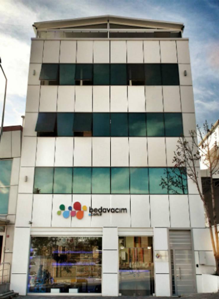5 dakika Deneyim Tasarımı / Experience Design – Essepro Ofis Binası:  tarz Ofis Alanları