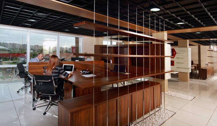 5 dakika Deneyim Tasarımı / Experience Design – Esse Holding Ofis Binası:  tarz Ofis Alanları