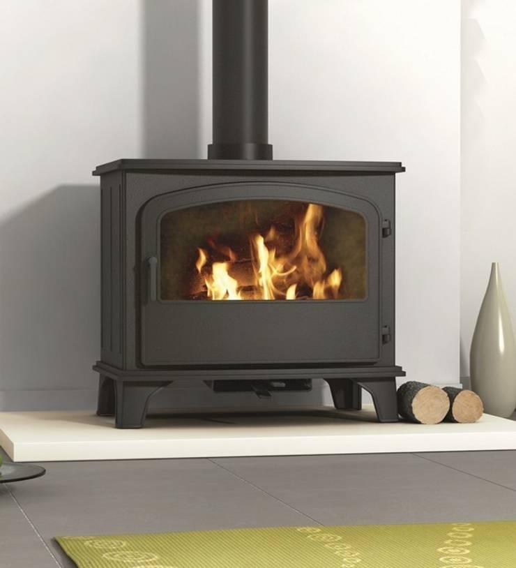 Hillandale Monterrey 7 Multi Fuel / Wood Burning DEFRA Approved Stove:  Living room by Direct Stoves