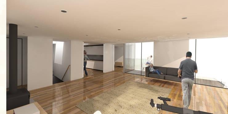Beach House - Internal View :   by ABIR Architects