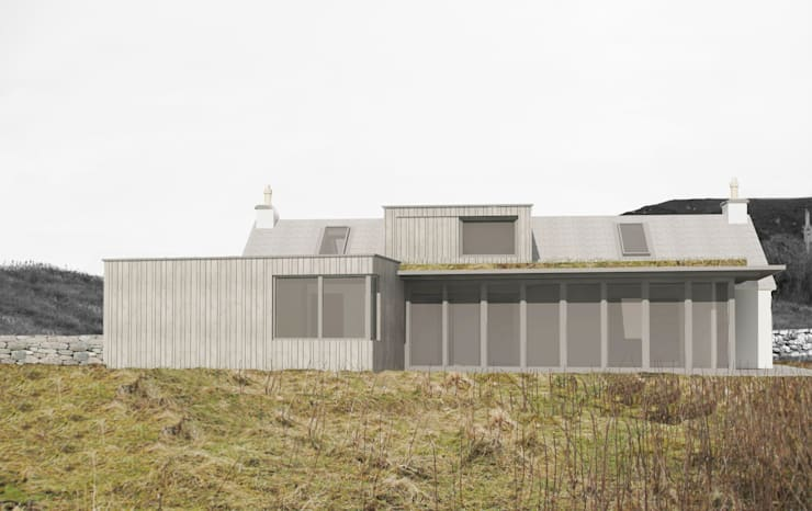 Private House, Isle of Raasay - Proposals:   by ABIR Architects