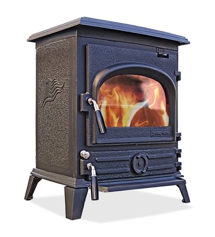 Horse Flame Pony Multifuel Stove:  Living room by Direct Stoves