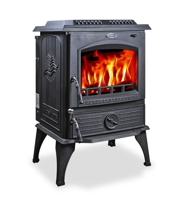 Horse Flame Yarrman Multifuel Boiler Stove:  Living room by Direct Stoves