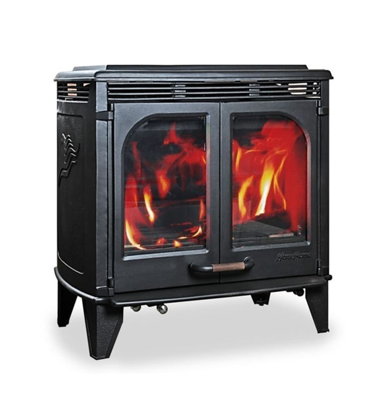 Horse Flame Firepower Multifuel Boiler Stove:  Living room by Direct Stoves