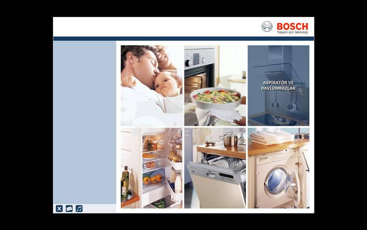 5 dakika Deneyim Tasarımı / Experience Design – Bosch İnteraktif Uygulama: modern tarz , Modern