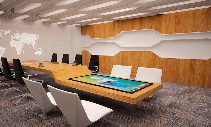 5 dakika Deneyim Tasarımı / Experience Design – TOUCH Furniture:  tarz Ofis Alanları & Mağazalar
