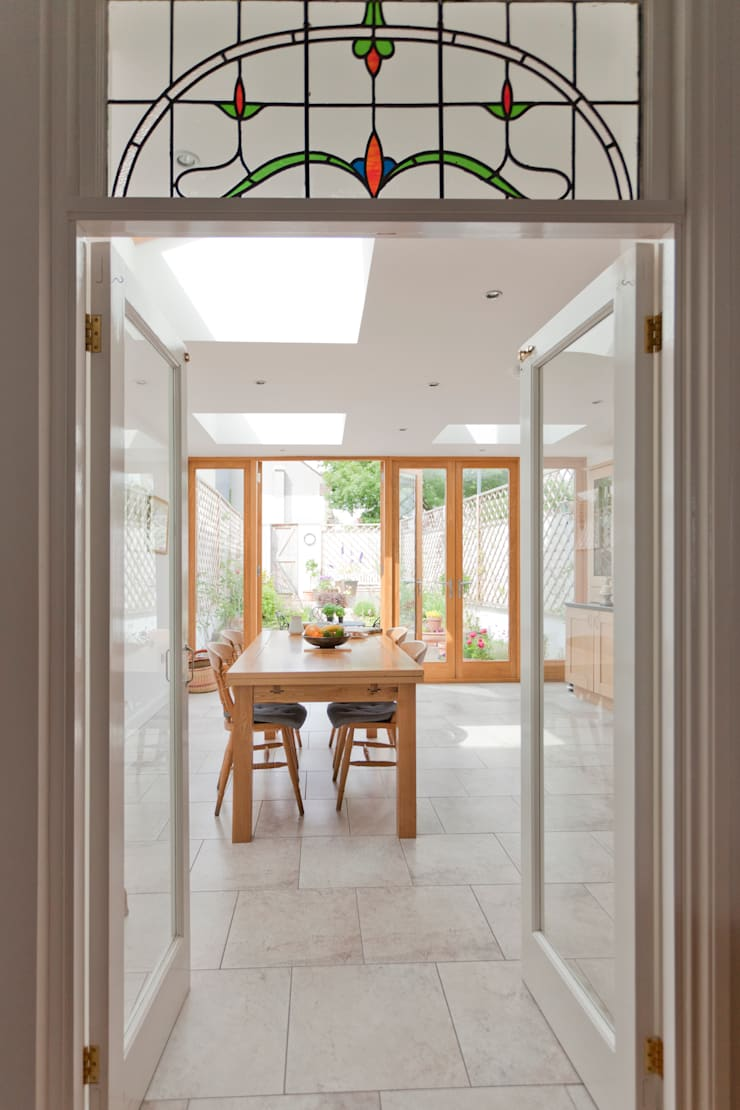 New dining room designed by DHV Architects:  Dining room by Dittrich Hudson Vasetti Architects