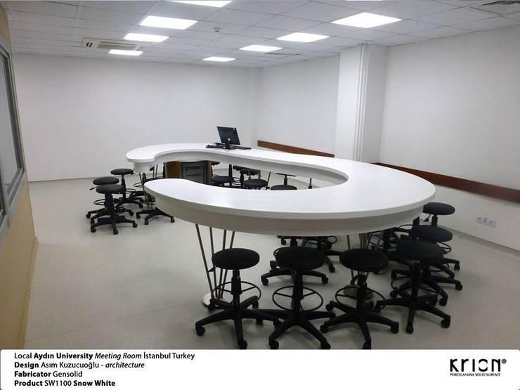 Gensolid Telnoloji Gel.Mob.İnş.Ltd.Şti. – Aydın University:  tarz İç Dekorasyon