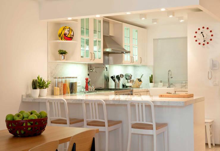 Paker Mimarlık – ABHARY EVİ: modern tarz Mutfak